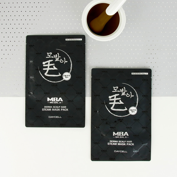 [DAYCELL] MBA MoBalA Derma Scalp Hair Steam Mask Pack 35g - 毛发芽 头皮 毛发 蒸汽 发膜帽