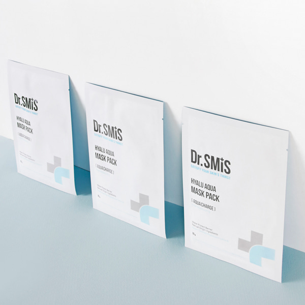 [DAYCELL] Dr.SMIS Hyalu Aqua Mask Pack 25g x 10ea