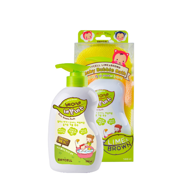 [DAYCELL] Lime&Brown Baby Bubble Bath 500ml