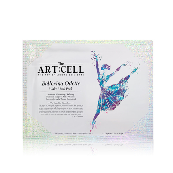 [DAYCELL] The Artcell Ballerina Odette White Mask Pack 30g