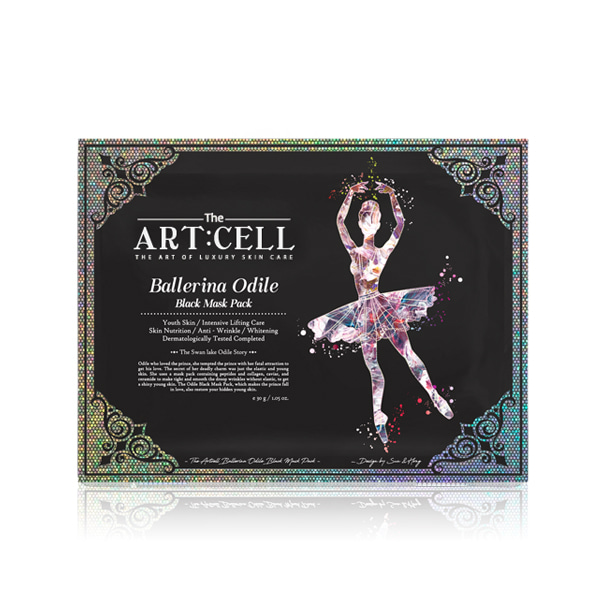 [DAYCELL] The Artcell Ballerina Odile Black Mask Pack 30g