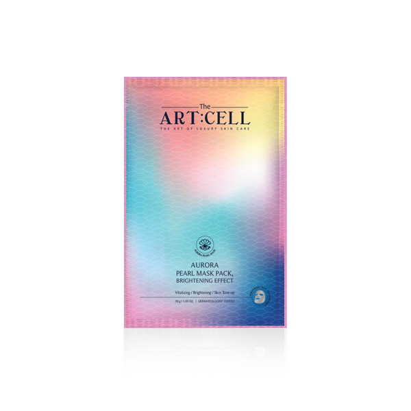 [DAYCELL] The Artcell Aurora Pearl Mask Pack, Brightening Effect 30g