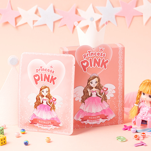 [DAYCELL] Princess Pink's Kids Mask Pack for Kids 15g x 10ea