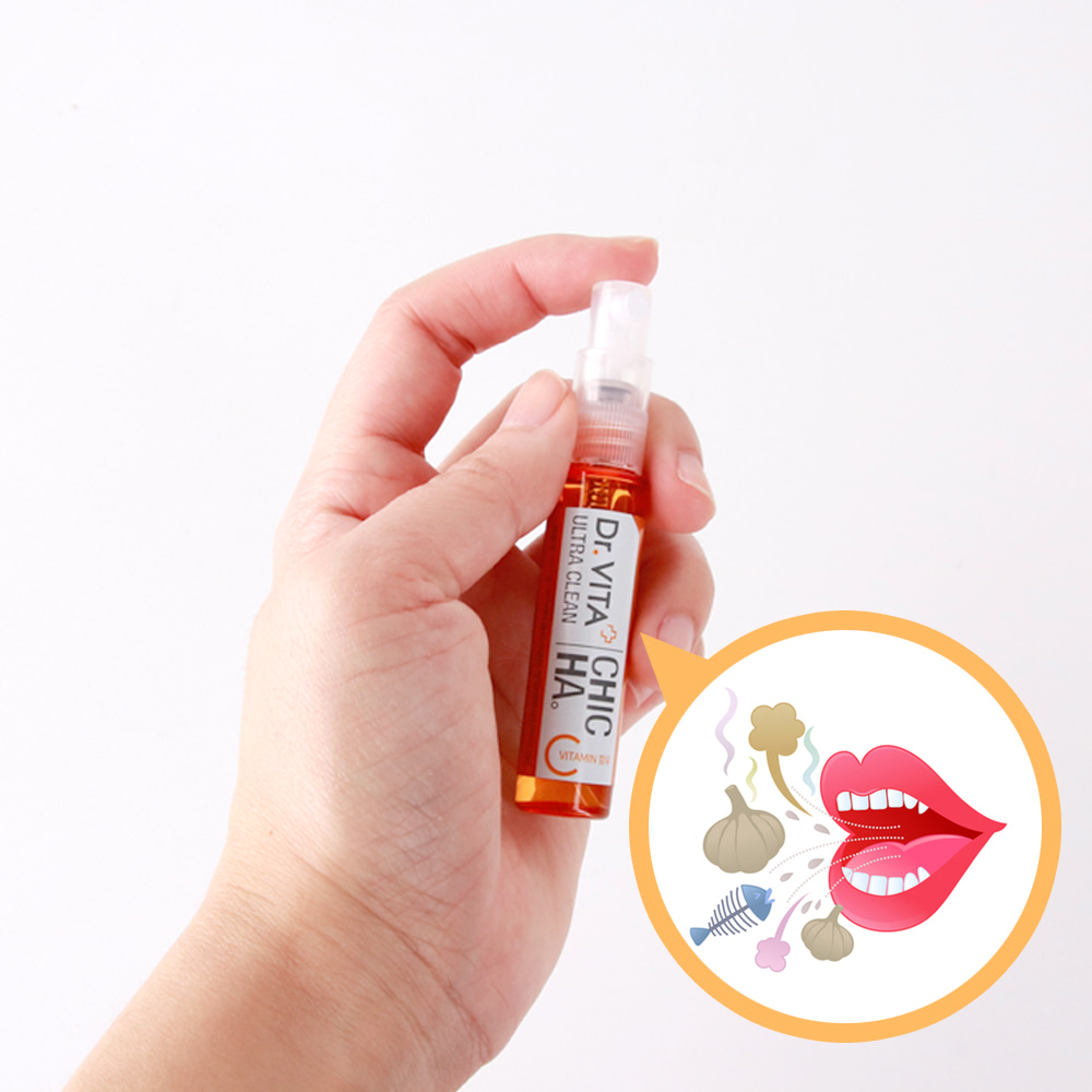 [DAYCELL] Dr.VITA Ultra Clean CHIC HA 7ml, A mouth spray for bad breath