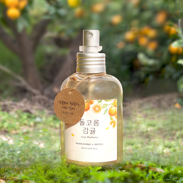 [DAYCELL] Small Jeju Body Perfume Mist by my side_Sweet Tangerine 150ml