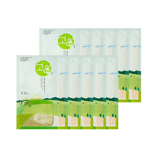 [DAYCELL] GOUN Green Tea Fermented Cream Mask - Cream 15g / Powder 0.5g