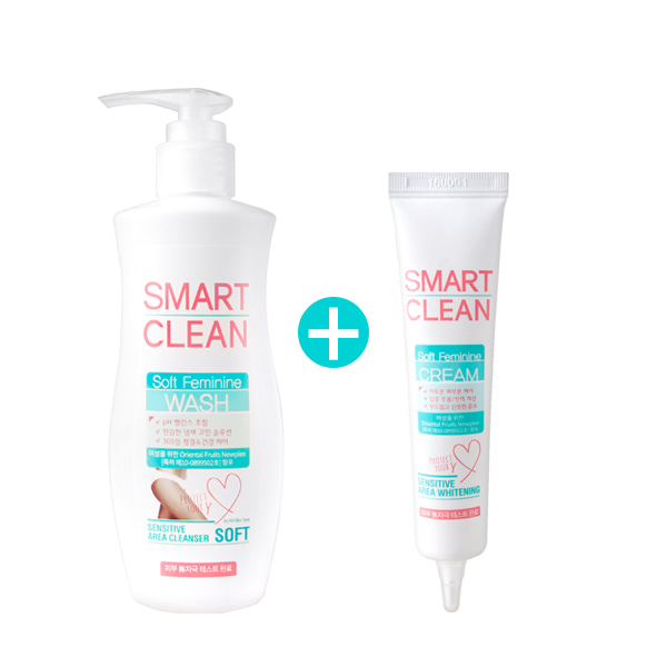 ★Fall Greeting Event★ [DAYCELL] Smart Cleam Soft Feminine Cream 30ml + Feminine Wash 200ml