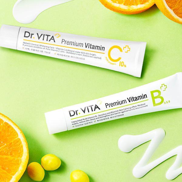 [DAYCELL] Dr.VITA Premium Vitamin Cream 30ml, 2 types